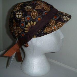 Vera Bradley Be cozy News Girl fleece lined hat